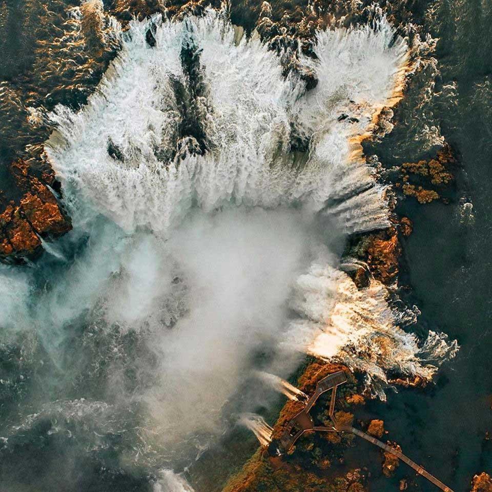 foto aerea cataratas